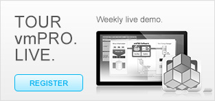 Tour vmPRO. LIVE. Weekly live demo.