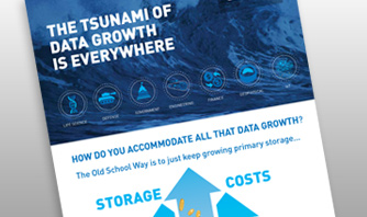 Tsunami of Data Growth is Everywhere