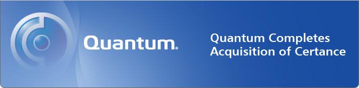 Quantum Completes Acquisition of Certance