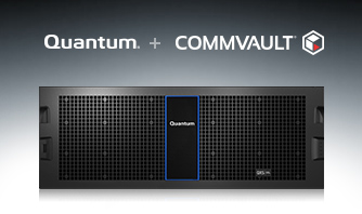 Quantum QXs storage enhances performance for Commvault