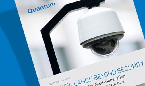 Intelligent Storage Enables Next Generation Surveillance & Security Infrastructure
