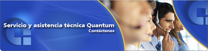 Contact Quantum Service and Support