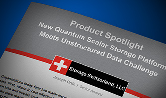 Read the Storage Switzerland Report