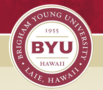 "BYU–Hawaii <span class=""subscript"">(En Anglais)</span>"