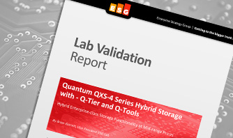 ESG Lab Validation Report