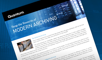 Reap the Rewards of Modern Archiving
